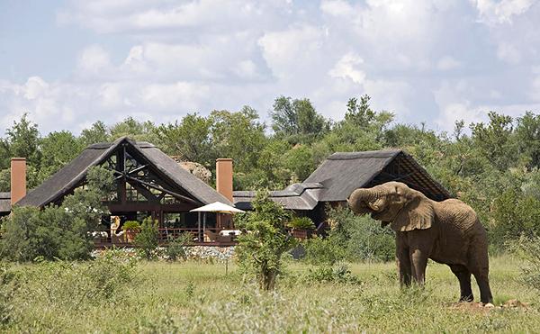 Mateya - Main Lodge View