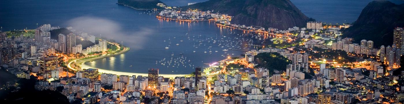 Brazil-Rio-by-night