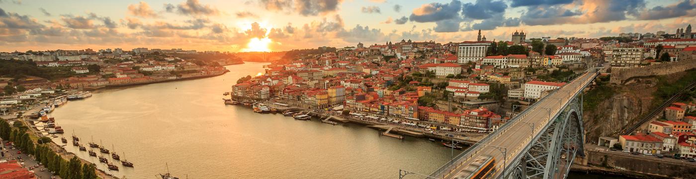 Porto-at-Sunset