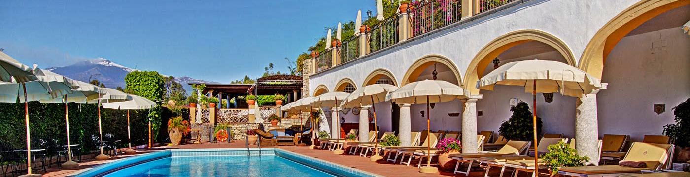 Фотография отеля San Domenico Palace бассейн - Италия, Сицилия