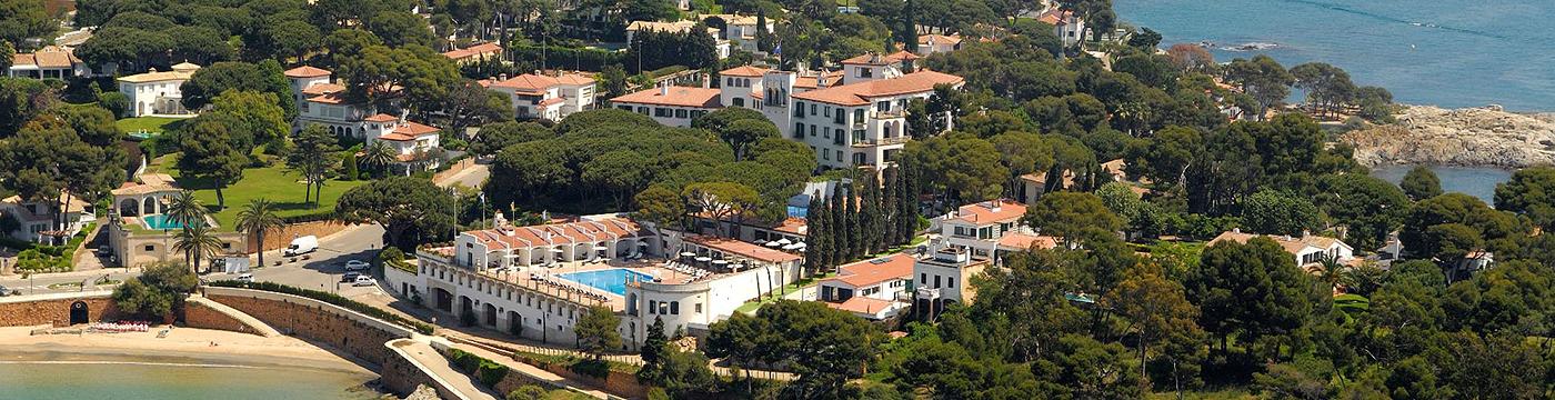 Фотография отеля Hostal de La Gavina общий вид отеля - Испания, Коста-Брава