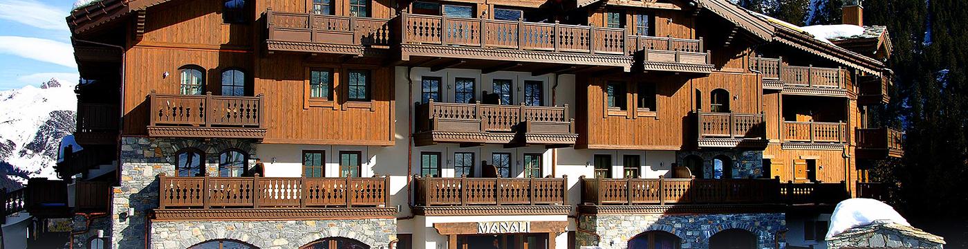 Фотография отеля Manali фасад - Франция, Куршавель