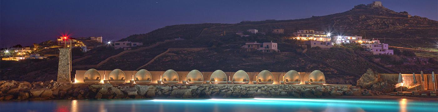 Фотография отеля Santa Marina Resort частный пляж - Греция, Миконос
