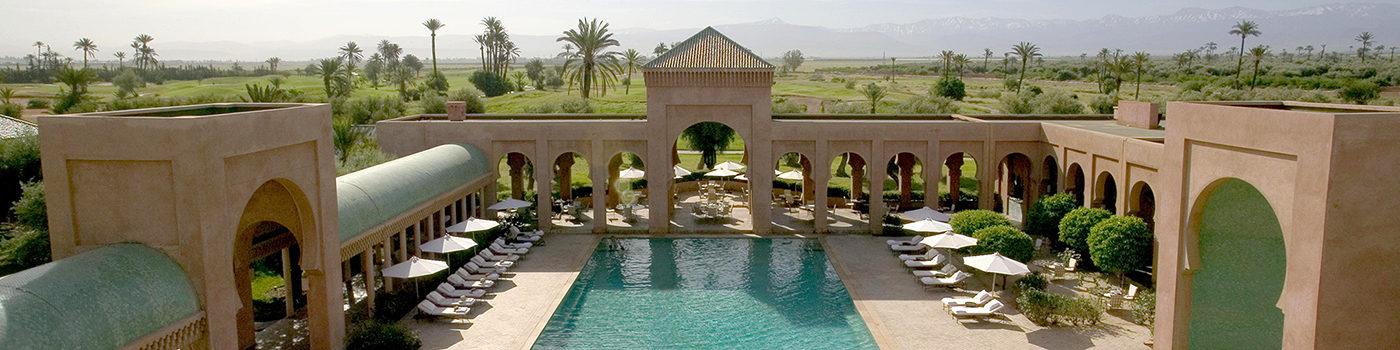 Фотография отеля Amanjena Экстерьер - Марокко, Марракеш