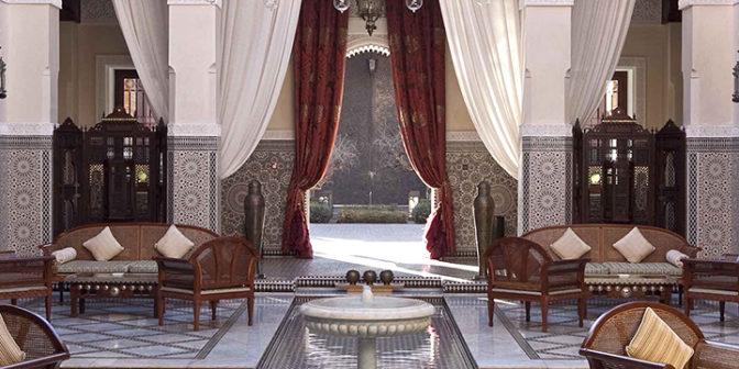 Фотография отеля Royal Mansour Marrakech отель интерьер - Марокко, Марракеш