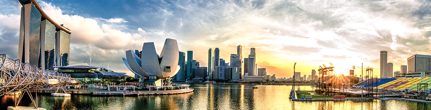 Singapore River Landscape