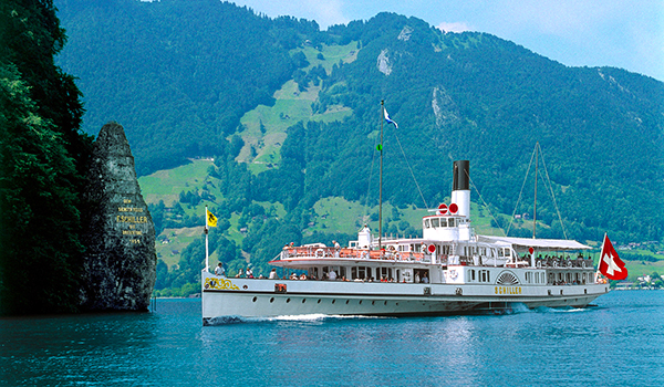 Schifffahrtsgesellschaft Vierwaldstaettersee - Raddampfer DS 'Schiller'