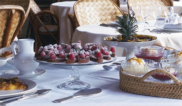 десерты 111111111LA MAISON DU BASSIN отеля