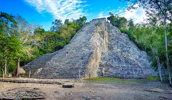 коба майя храм