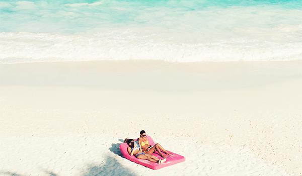 пляж как пюре